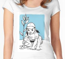 Love and caring environment Women's Fitted Scoop T-Shirt