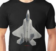 Plane & Simple - F22 Raptor Fighter Unisex T-Shirt