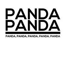 Panda Panda Panda Panda  by jackthewebber