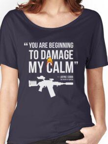 Damaging My Calm Women's Relaxed Fit T-Shirt