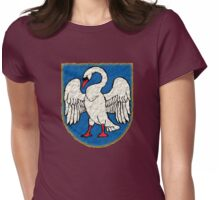 Lithuanian Coat Of Arms Emblem Womens Fitted T-Shirt