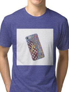 My Gecko Cellphone is on Your Pillow  Tri-blend T-Shirt