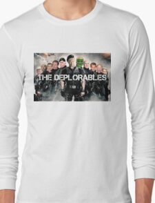 The Deplorables Long Sleeve T-Shirt