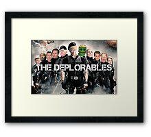 The Deplorables Framed Print