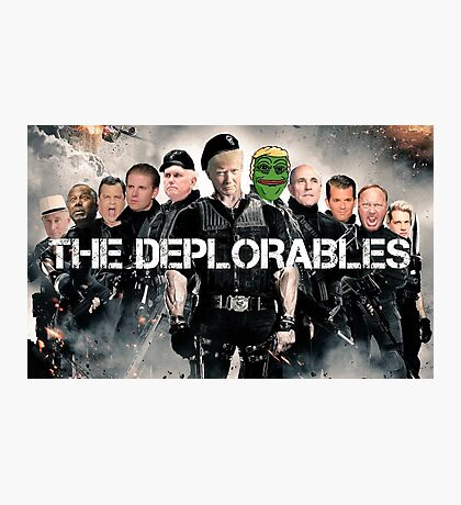 The Deplorables Photographic Print