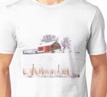 A Farm In Winter Unisex T-Shirt