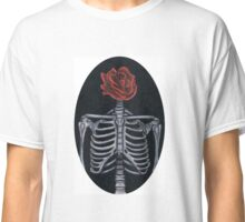 Skeleton Rose Classic T-Shirt