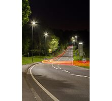 Night On The Road Photographic Print