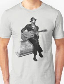 Blues Ghost Unisex T-Shirt