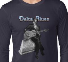 Delta Blues Ghost Long Sleeve T-Shirt