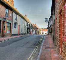 Alfriston High Street, Sussex by Avalinart