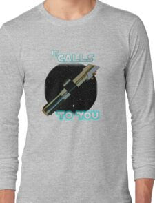 Star Wars VII The Force Lightsaber Long Sleeve T-Shirt