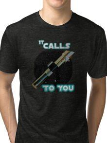 Star Wars VII The Force Lightsaber Tri-blend T-Shirt