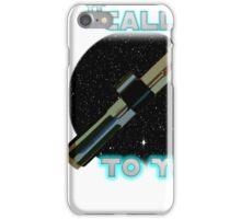 Star Wars VII The Force Lightsaber iPhone Case/Skin