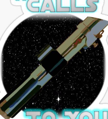 Star Wars VII The Force Lightsaber Sticker