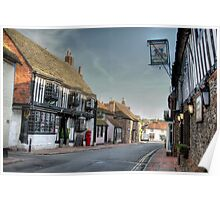 Alfriston High Street - 2, East Sussex, UK Poster