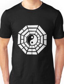 Pakua - Eight Trigrams design (White) Unisex T-Shirt