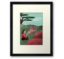 Garden Witch Framed Print