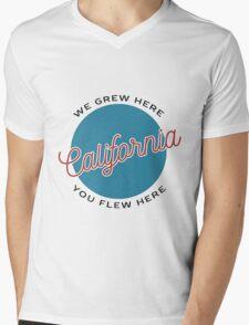 CALI Mens V-Neck T-Shirt