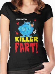 Killer Fart! Women's Fitted Scoop T-Shirt