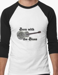 Born with the Blues Men's Baseball ¾ T-Shirt