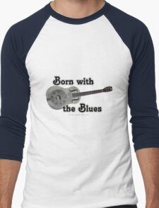 Born with the Blues Men's Baseball ¾ T-Shirt