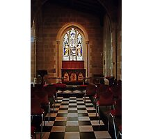 Chapel—St David's Cathedral, Hobart Photographic Print