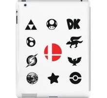 Smash Symbols iPad Case/Skin