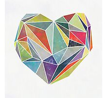 Heart Graphic 5 Photographic Print