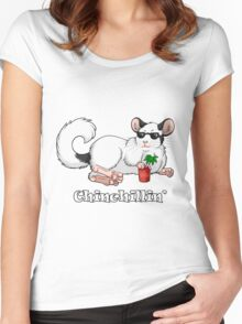 Chinchillin' Women's Fitted Scoop T-Shirt