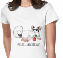 Chinchillin' Womens Fitted T-Shirt