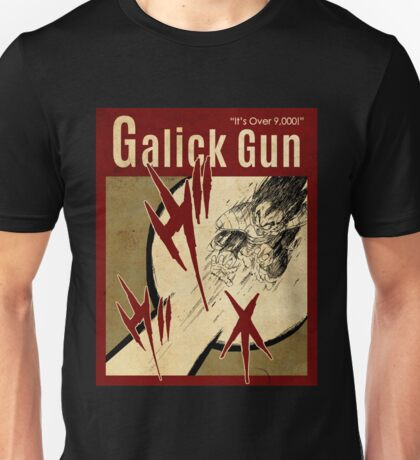OVER 9000, GALICK VINTAGE 6 Unisex T-Shirt