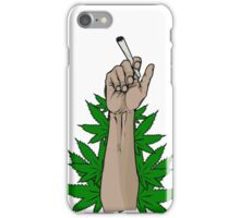 SOME GUY HOLDING A BLUNT IDK iPhone Case/Skin