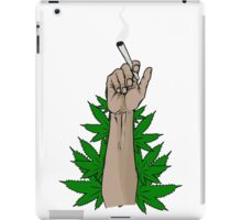SOME GUY HOLDING A BLUNT IDK iPad Case/Skin