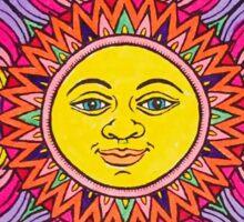 Bright Sun Mandala Sticker