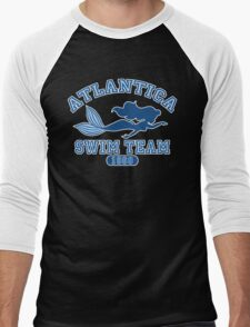 Atlantica Swim Team Men's Baseball ¾ T-Shirt