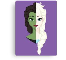 Wicked SnowQueen! Canvas Print
