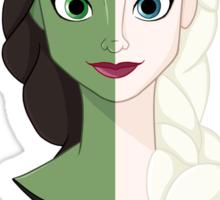 Wicked SnowQueen! Sticker