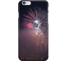 Fireworks competition at night iPhone Case/Skin