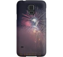 Fireworks competition at night Samsung Galaxy Case/Skin