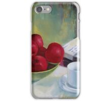 Summer apples iPhone Case/Skin