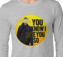 And it Was All Yellow Long Sleeve T-Shirt
