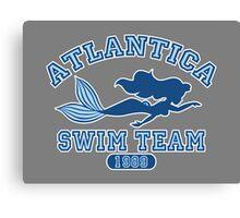 Atlantica Swim Team Canvas Print