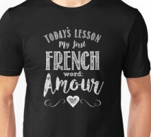 French lesson Unisex T-Shirt