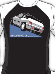 Peugeot 205 CJ cabriolet white T-Shirt