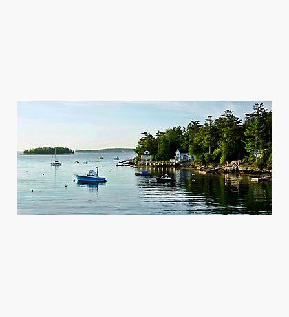 A Quiet Cove - Southport,  Maine Photographic Print