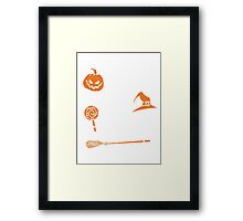 Halloween Shirt - witch better have my candy Framed Print