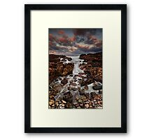 Between Brown's & Kelpies Framed Print