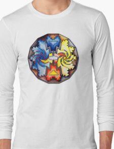 Mother Earth - Father Sky mandala Long Sleeve T-Shirt