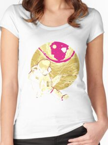 Astronaut TSHIRT Women's Fitted Scoop T-Shirt
